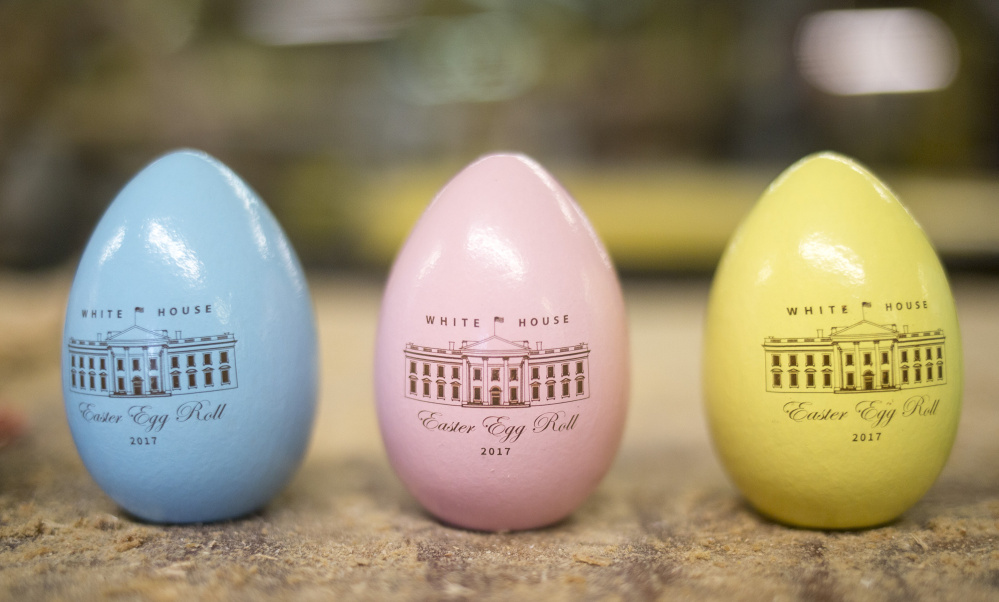 Buckfield Wood Turning Mill On A Roll With White House Eggs