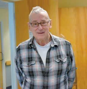 HENRY HALEY is the longest serving employee of the Mid Coast Hunger Prevention Program.