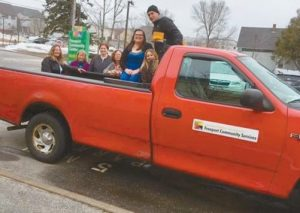FCS STAFF look forward to retiring their old truck in favor of a new one.