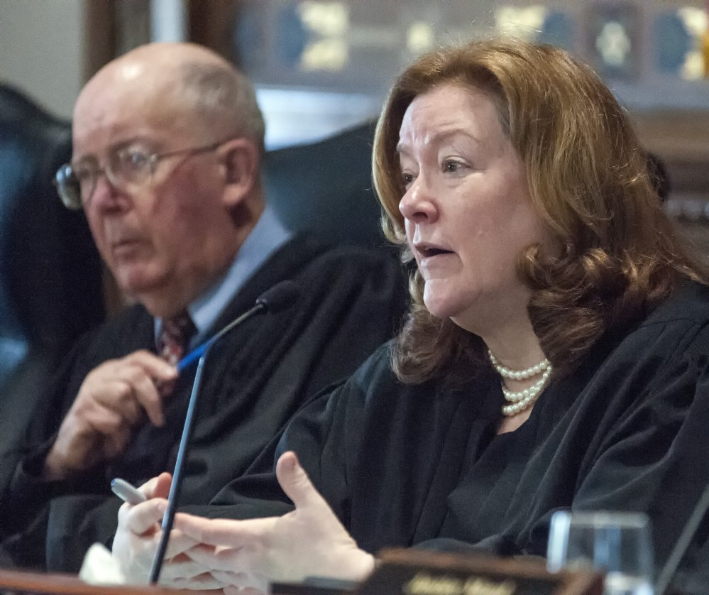 """Chief Justice Leigh Saufley said in a side opinion, """"We can and must do better for Maine's youth."""""""