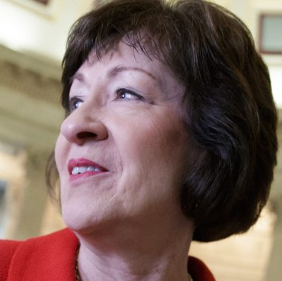 """Sen. Susan Collins says """"Maine is a rural state that has a large low-income population ... that could benefit from Medicaid expansion."""""""