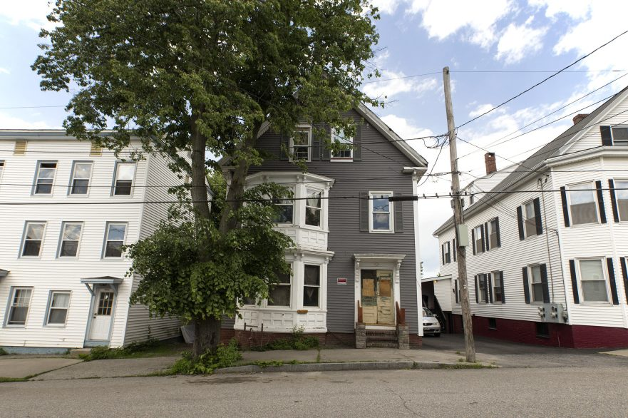 The multifamily home at 31 East Oxford St. in Portland's East Bayside neighborhood has been deemed a