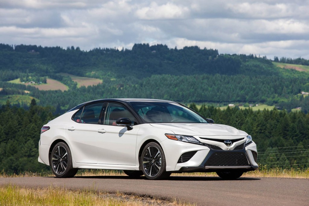 Auto review: Toyota Camry looks to shed its vanilla persona
