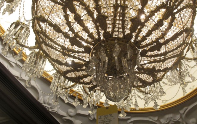 A Crystal Chandelier At The Former Trump Taj Mahal In Atlantic City Was Ing For
