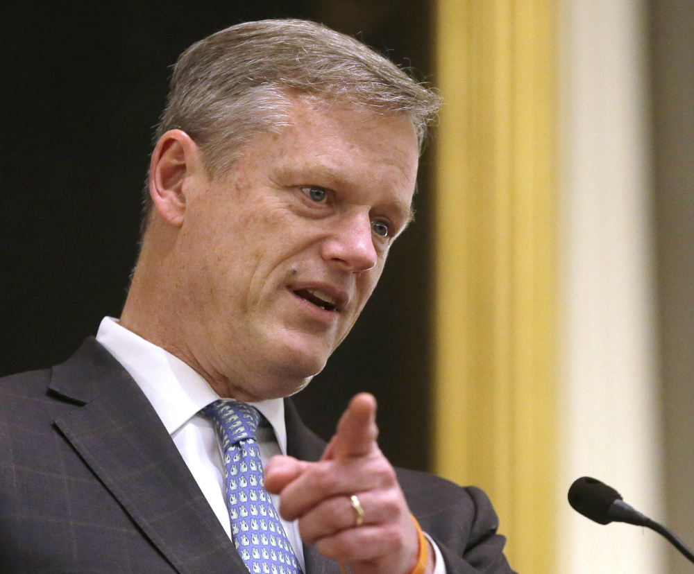 Massachusetts Gov. Charlie Baker had proposed that his state rein in Medicaid costs, but the budget that was approved by the House and Senate rejects that plan. The budget does factor in $250 million in recent health care savings Baker said he was able to find.