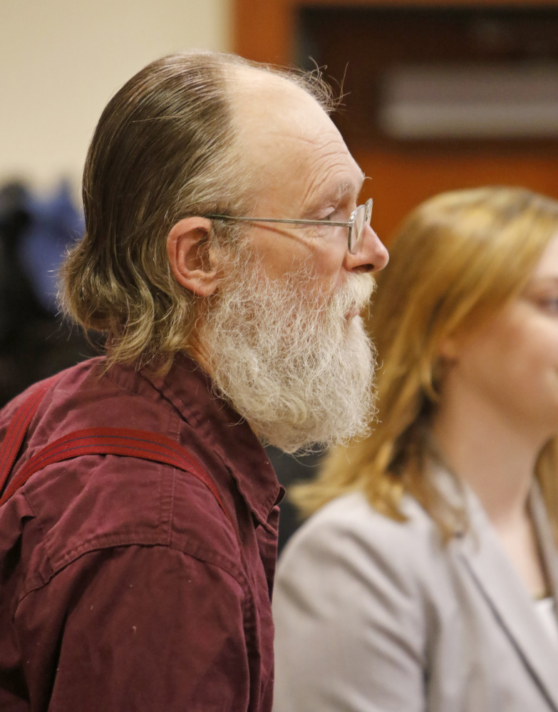 Henry Eichman is arraigned in Cumberland County Superior Court in April.
