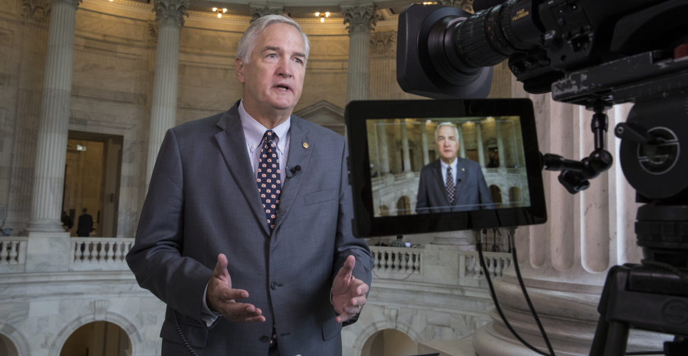 Sen. Luther Strange, R-Ala., appointed in February, got a boost when President Trump backed his campaign with a tweet.