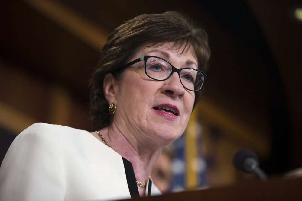 A letter writer says most people urging Sen. Susan Collins to vote against Brett Kavanaugh's nomination are not bad actors.