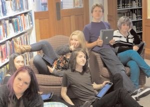 PATTEN FREE LIBRARY is two-thirds to its $325,000 fundraising goal to upgrade its teen space and reference room.