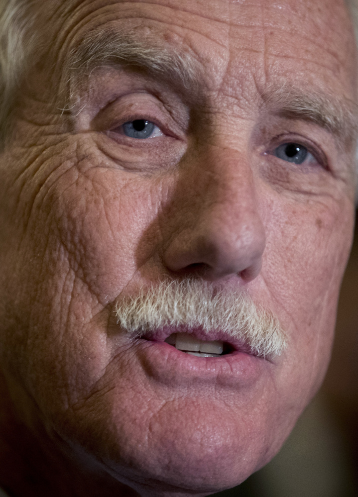 """Sen. Angus King: """"The Russians need to know there is a price to be paid."""""""