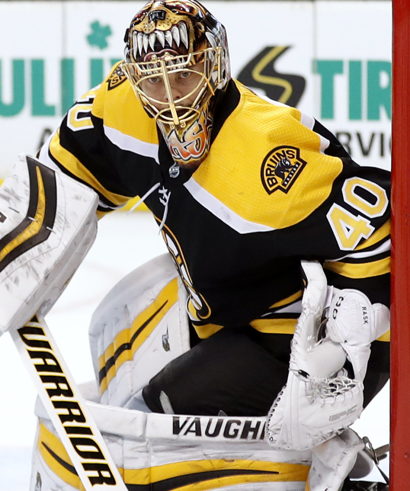 Tuukka Rask has an .897 save percentage and is just 3-8-2. But his contract means he's the long-term starter.