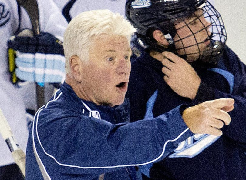 Maine Coach Red Gendron is looking for more consistency from a team that has won back-to-back games just once.