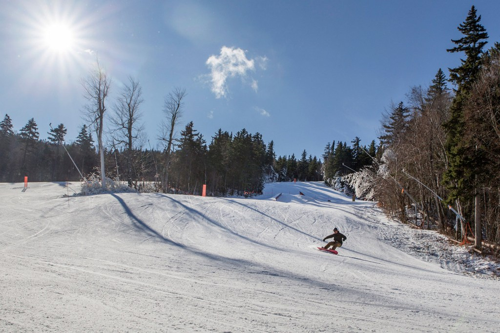Sunday River opened for the 2017-18 ski season last weekend. The resort, shown Wednesday, is trying a new approach to fill its seasonal jobs, a growing challenge for Maine's ski areas.