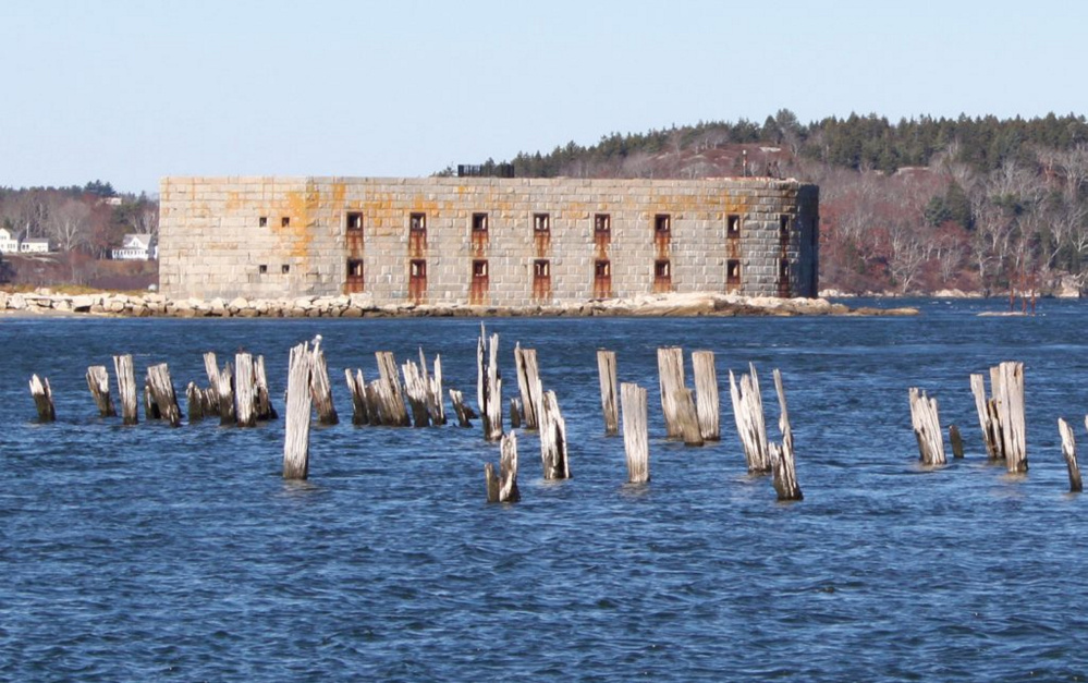 These pilings, in place for more than 100 years, date back to an old steamship company operation. A nearby homeowner commissioned an engineering report saying they caused erosion.