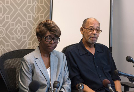 Barbara and Phillip Butler, victims of the 1977 cross burning on their property by William Aitcheson, a former Ku Klux Klan member who became a Catholic priest in 1988, say they doubt the sincerity of his confession and aren't interested in meeting with him.(Washington Post/Marvin Joseph)