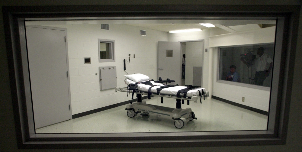 Alabama may opt for nitrogen gas as a backup to its lethal injection chamber at Holman Correctional Facility in Atmore.