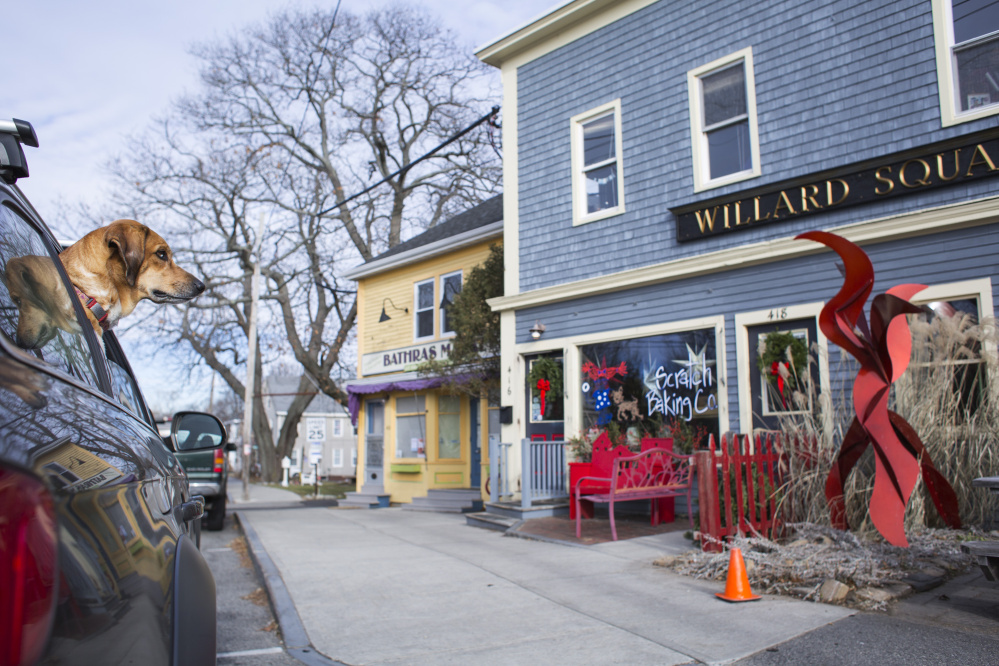 The popular Willard Square area has short-term rentals that can help a resident make ends meet. As it tries to set policy, the South Portland City Council wanted to ban short-term rentals of homes in residential neighborhoods that aren't owner-occupied.