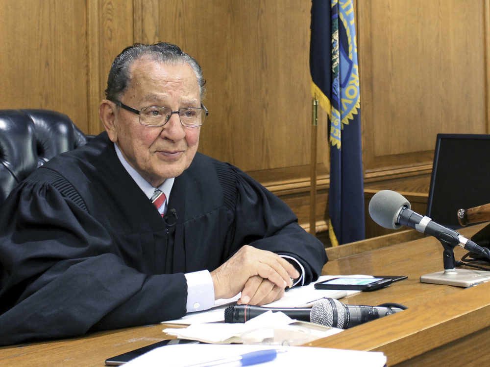 Providence, R.I., Municipal Court Judge Frank Caprio. FOX Television has picked up the 81-year-old judge's local show