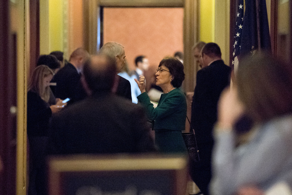 """Maine Sen. Susan Collins says she's """"annoyed"""" that votes on her ACA stabilization bills were delayed until next year, but waiting six or eight weeks for them to be passed is not a big deal."""