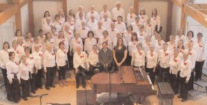 """THE GREATER FREEPORT COMMUNITY CHORUS, led by Virgil Bozeman, will present """"Un Natale Barocco (A Baroque Christmas)"""" in performances Dec. 9 and 10 in Yarmouth and Brunswick."""