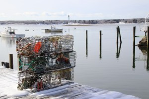 Lobsters crawl, on Christmas Eve day or any day, so fishermen have to be ready — at Biddeford Pool, Dec. 24. TAMMY WELLS/Journal Tribune