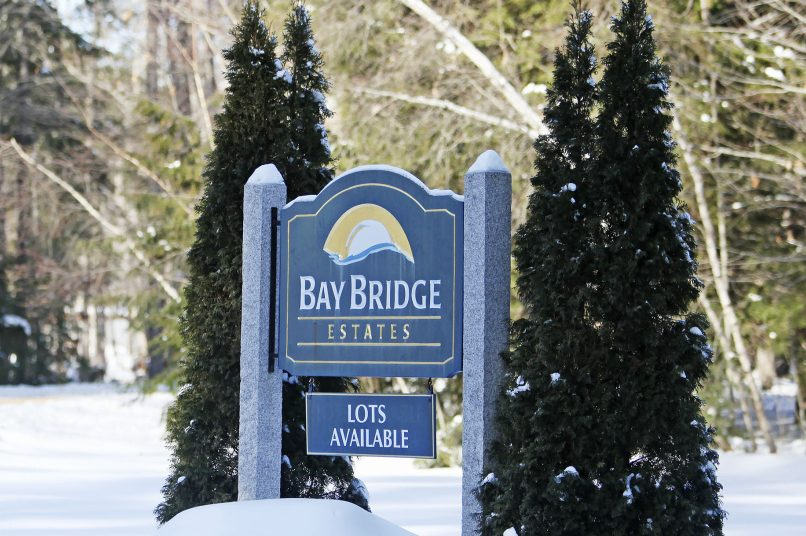 Residents of Bay Bridge Estates in Brunswick, seen in January, say their concerns about maintenance, road conditions and falling trees in the mobile home park aren't being addressed.