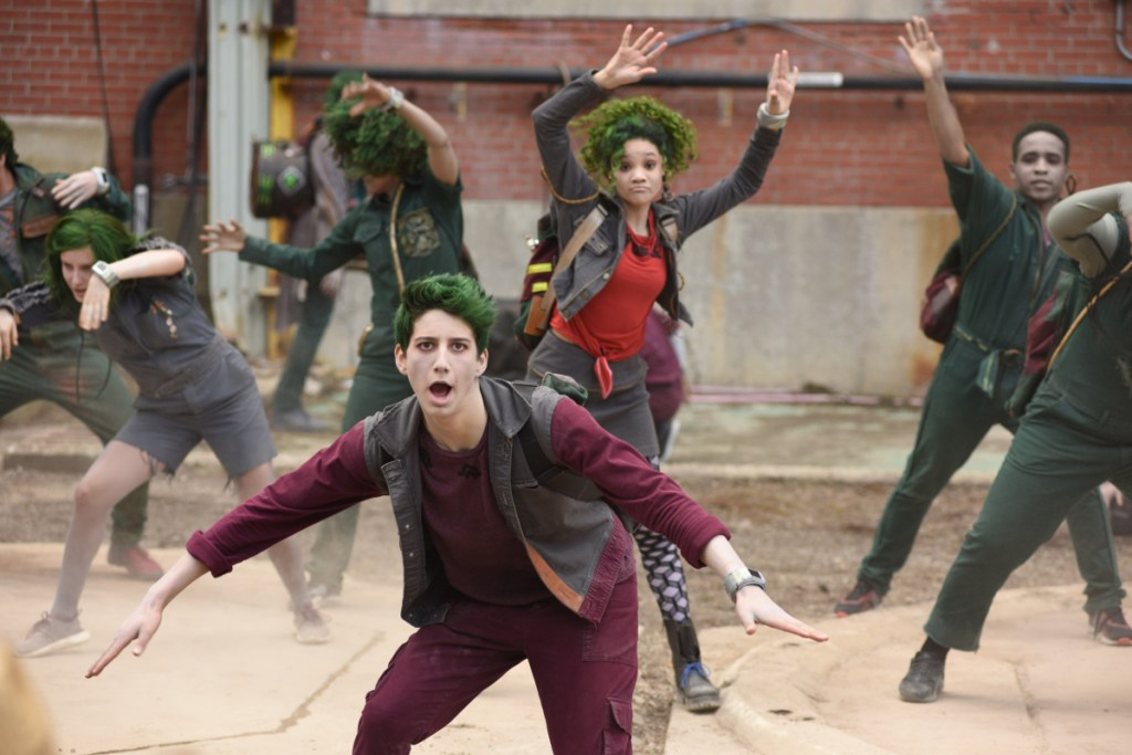 """A scene from  The Disney Channel original movie """"Zombies."""" John Medland/Courtesy of Disney Channel"""