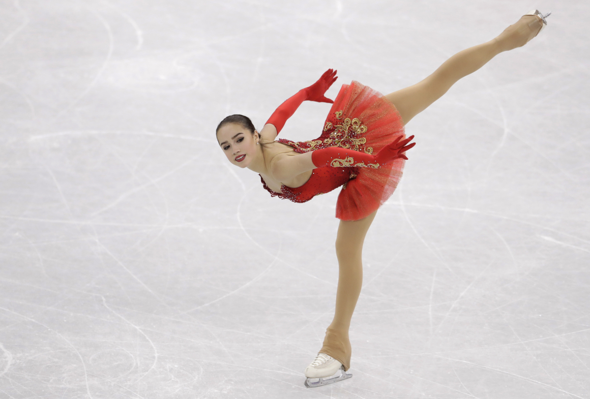15yearold figure skater gives Russians 1st gold at 2018 Olympics  Portland Press Herald