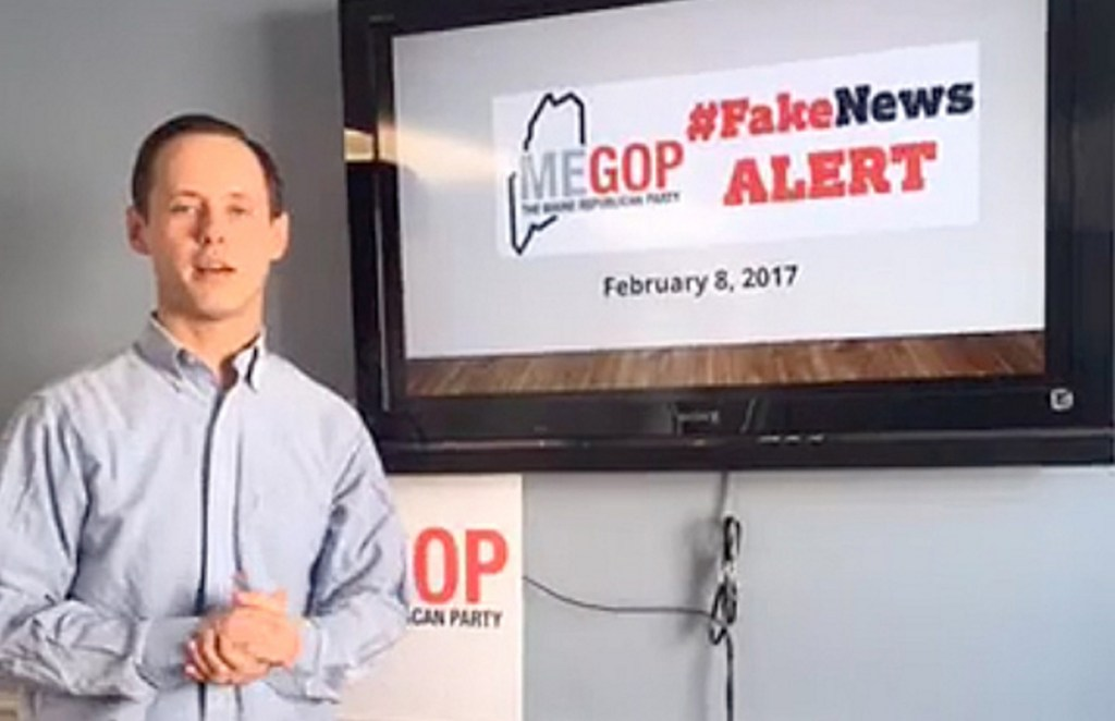 """Jason Savage, the Maine Republican Party's executive director, says that he had hidden his identity as the creator of the Maine Examiner because he wanted it to become """"a larger, more robust entity"""" and sought to avoid attacks that would come if """"certain people"""" knew about his role."""