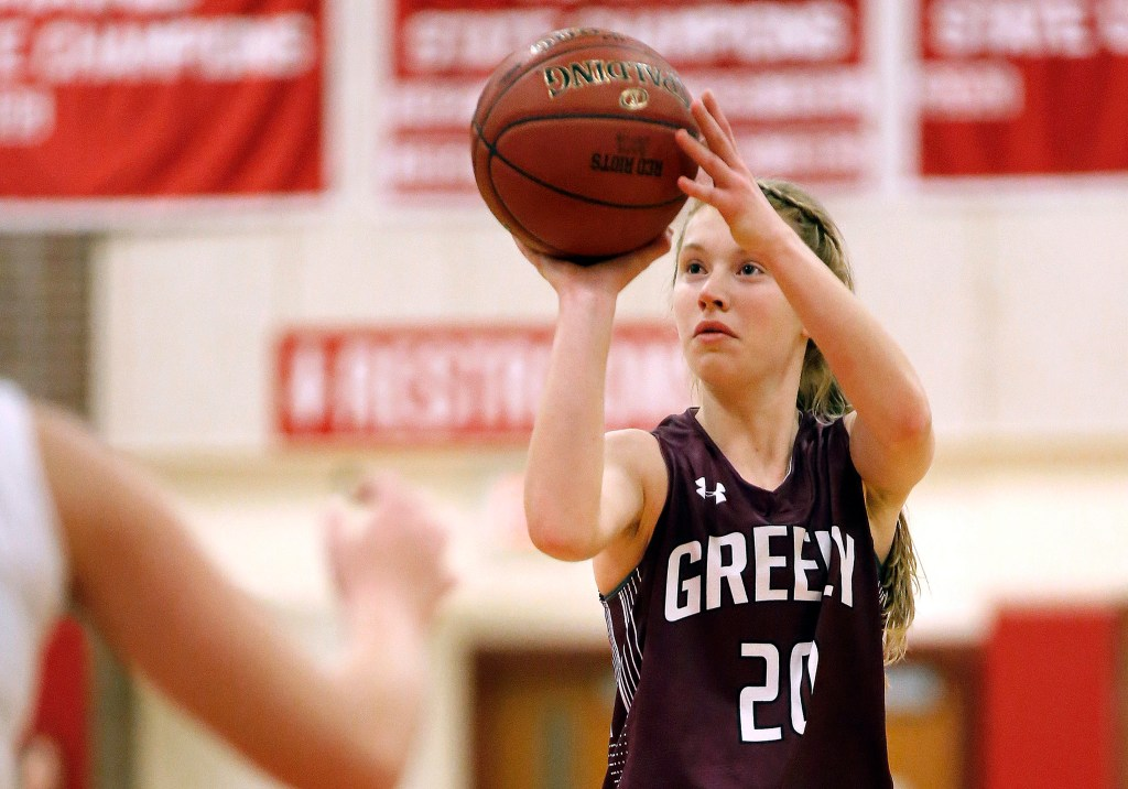 Though she's only a junior, Greely guard Anna DeWolfe surpassed the 1,000-point mark early this season and could have an outside shot of getting to 2,000 points next year.