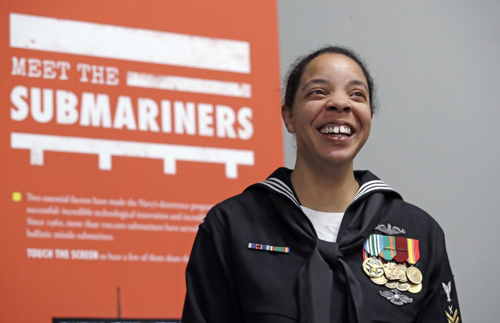"""Navy YN1 Suraya Mattocks says it will be """"a great day"""" when women on submarines are old news."""