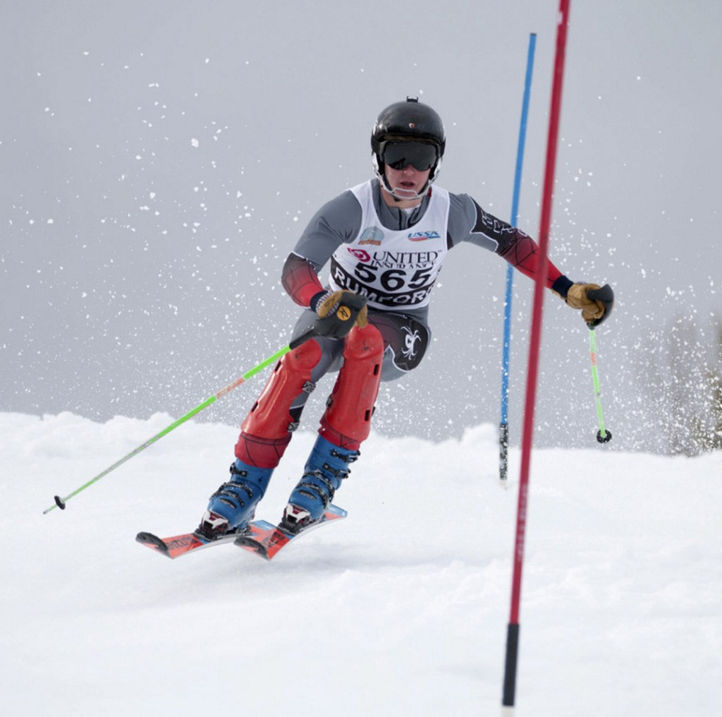 Oxford Hills sophomore Tommy Bancroft was a busy skier at the Class A state championships, entering both events in the Alpine and Nordic competitions, and never finishing outside the top 20. Bancroft in the male Skier of the Year.