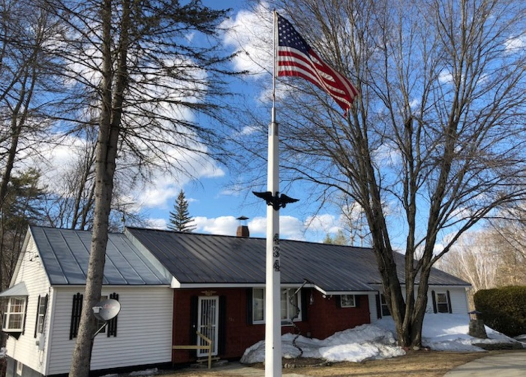The Skowhegan Road home of William Hale and Marie Lancaster-Hale stands empty Saturday afternoon in Norridgewock after police discovered and removed the bodies of the couple, who died in what Maine State Police called an apparent domestic violence murder-suicide.