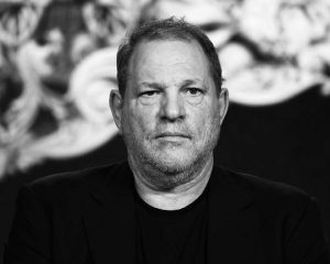 PRODUCER HARVEY WEINSTEIN participates in a panel discussion at the A&E 2016 Winter TCA in Pasadena, California.