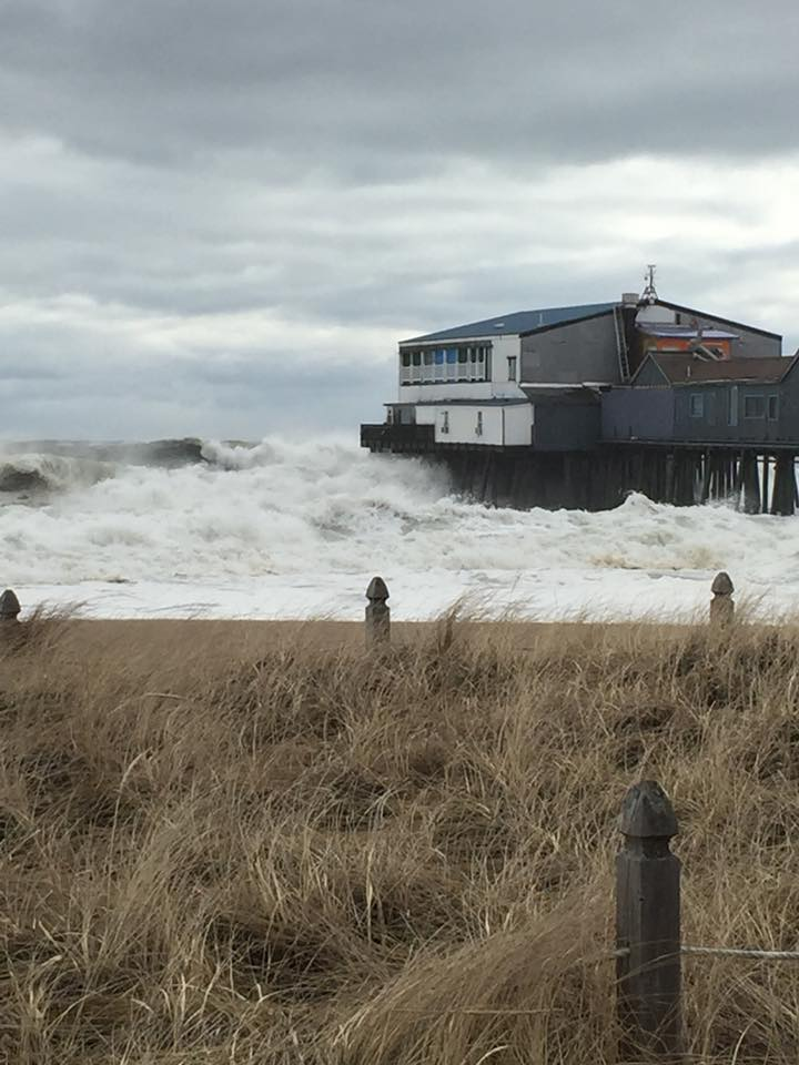 Beach Pier Home Decor For Living Room: Floodwaters Surge, Waterfront Homes Battered As Powerful