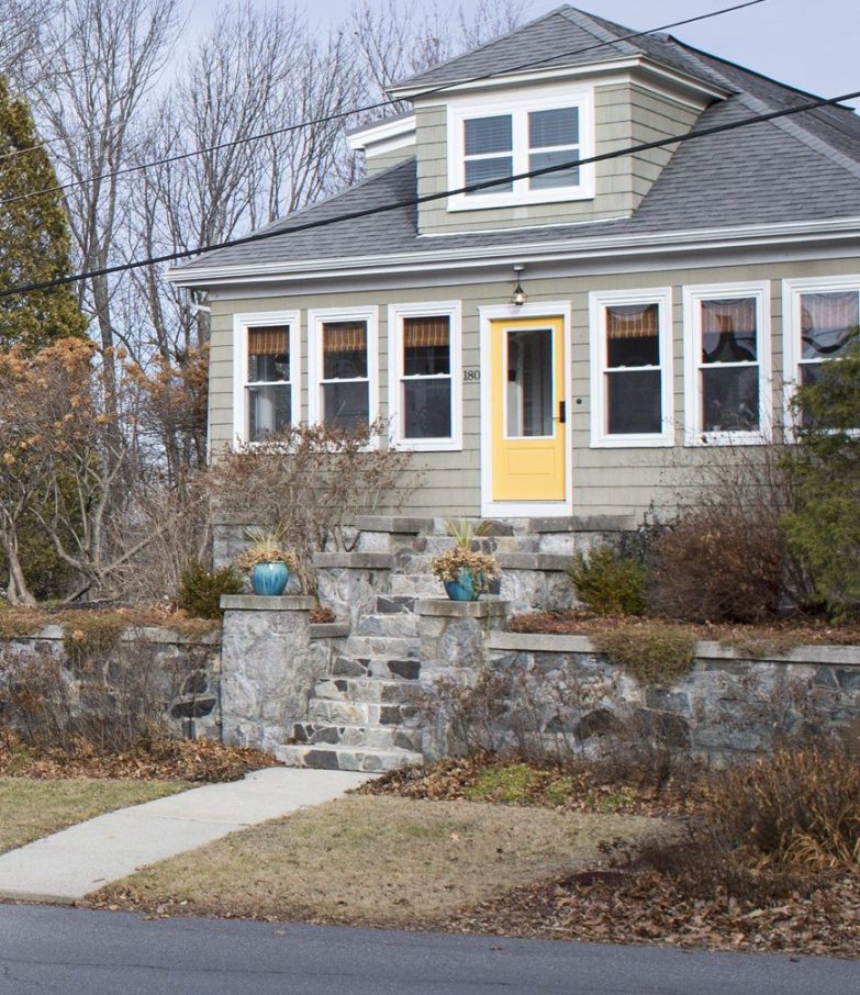 Many of South Portland's short-term rentals, such as this one on Preble Street, are in waterfront districts.