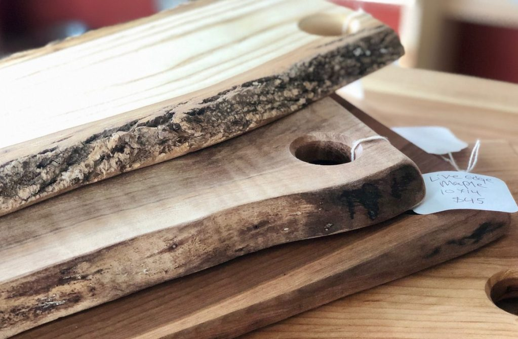 Farmer and chef Neal Foley started making cutting boards in 2012.