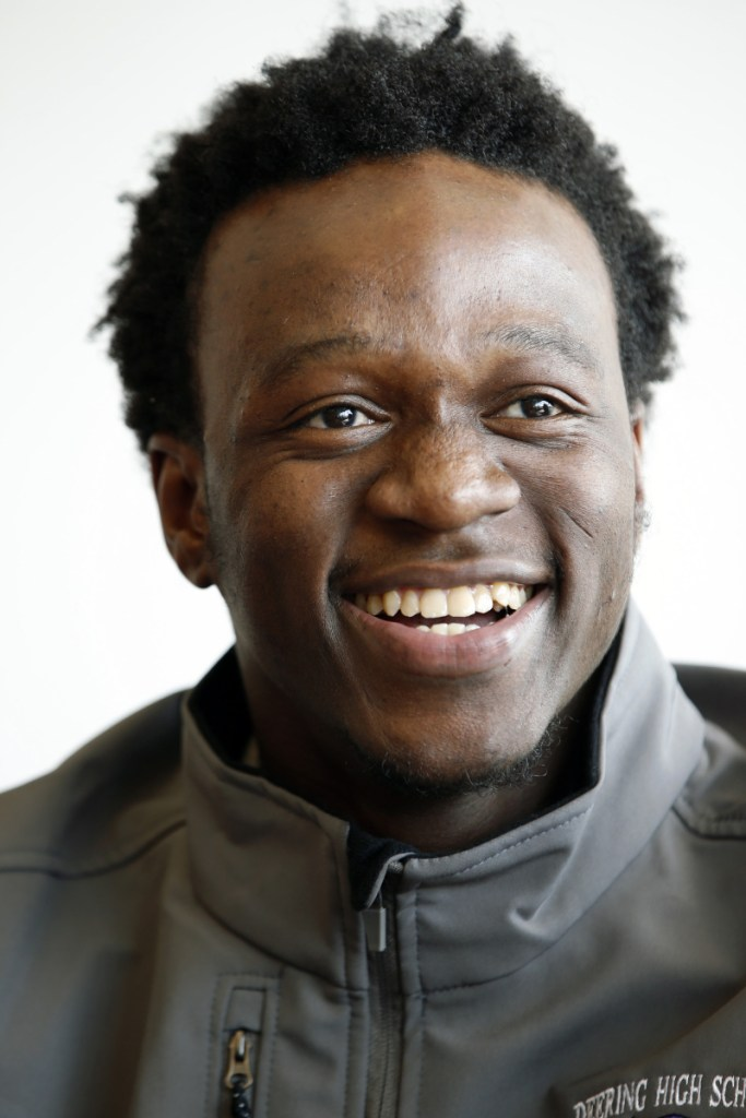 """Allan Monga, above, """"has won the right to represent our state"""" at the Poetry Out Loud national finals, a reader says."""