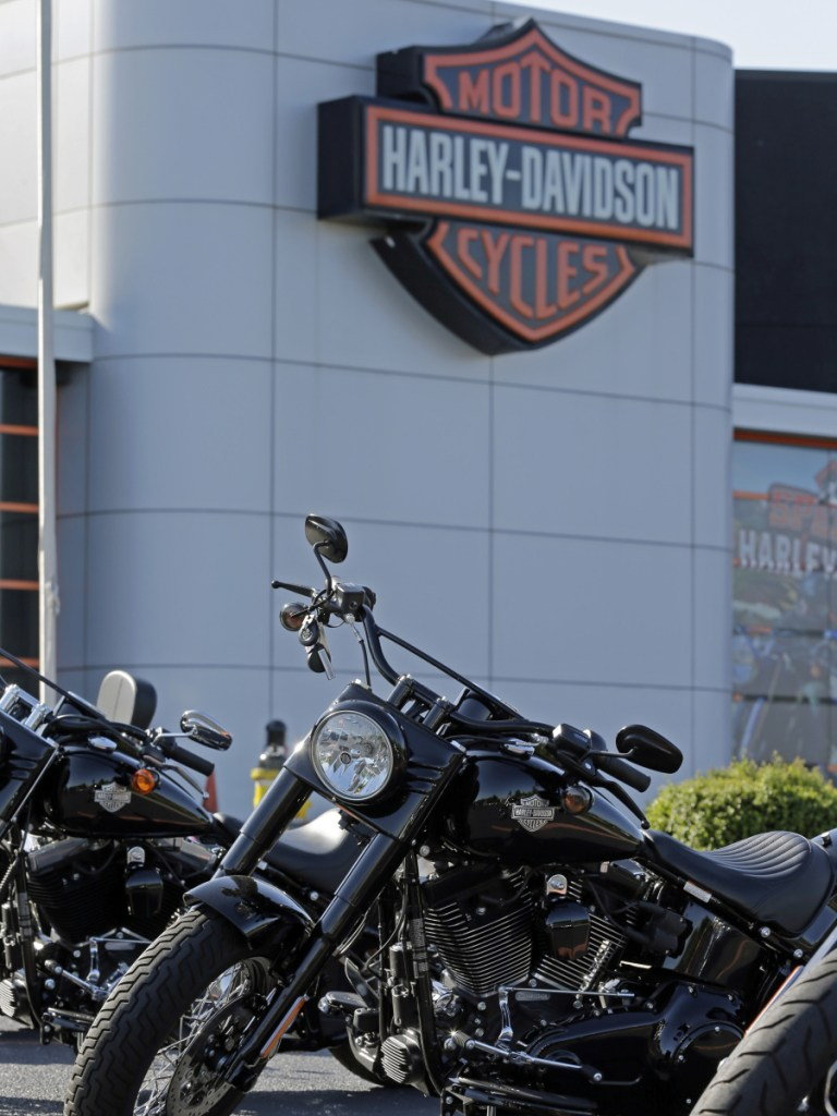 "Harley-Davidson expects to start making motorcycles in Thailand later this year to circumvent what the CEO calls ""unbelievable trade and tariff barriers."""