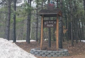A PORTLAND GREENDRINKS GRANT would allow Lisbon to map the town's trails, including those at Beaver Park.