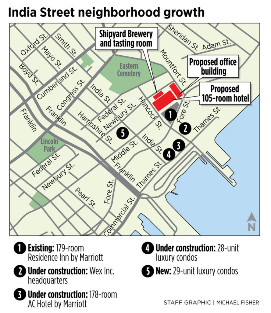 Shipyard Brewing's ambitious plan for India Street area includes