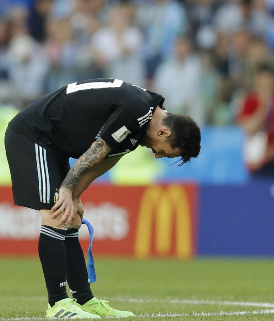 Lionel Messi missed a penalty kick in a surprising 1-1 draw with Iceland, and now Argentina needs to a win over Croatia to clear its path to the round of 16.