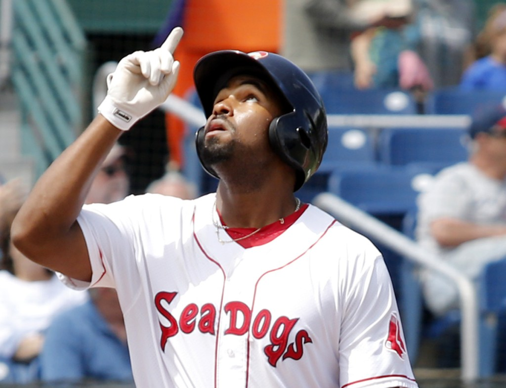 Josh Ockimey, who batted just .228 in June, has picked it up in July, batting .400, and he's headed to the Eastern League All-Star Game Wednesday night in Trenton, N.J.