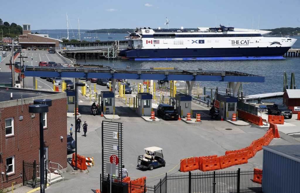 Portland envisions its waterfront without Nova Scotia ferry