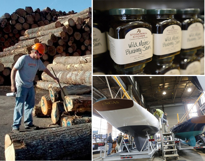 While Maine's top Canadian imports and exports – including lumber and pulp and paper products – will be mostly unaffected by new tariffs, the trade dispute is causing headaches for some industries, like specialty food manufacturers and boatbuilders.