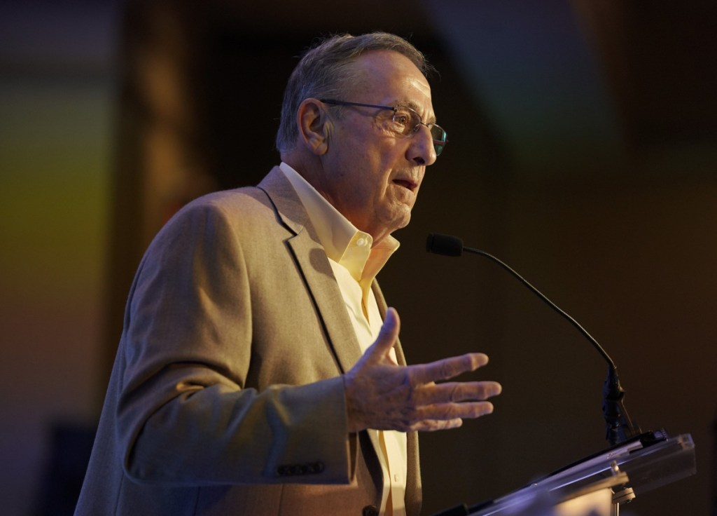 """Gov. Paul LePage was released from the hospital Monday after experiencing what his spokesman described as """"discomfort."""""""