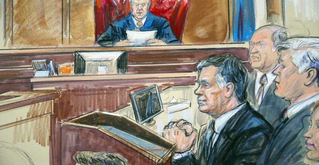 Prosecutions like those against Trump campaign chairman Paul Manafort, above, used to be much more common. But the Justice Department has backed off pursuing such cases.