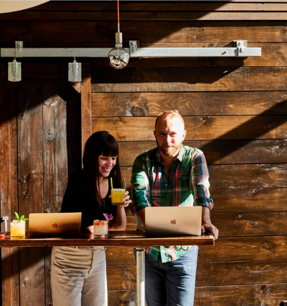 Briana and Andrew Volk, owners of the Portland Hunt + Alpine Club and Little Giant in Portland, share recipes for cocktails as well as food in their new cookbook.