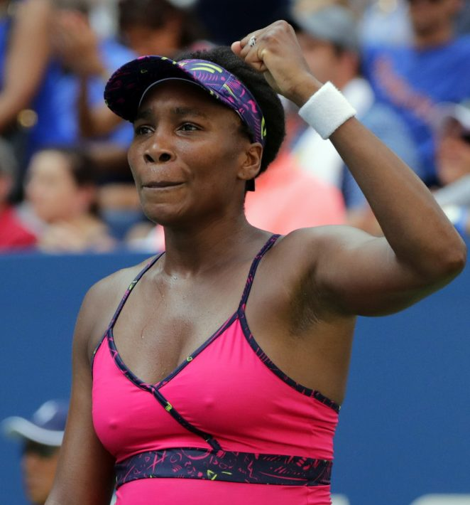 Venus Williams beat Camila Giorgi on Wednesday to advance to the third round  of the U.S. Open in New York.