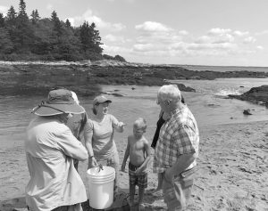 EXPLORE THE INTERTIDAL ZONE of Reid State Park's Griffith's Head with KELT Naturalists on Aug. 7. KENNEBEC ESTUARY LAND TRUST STAFF